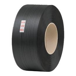 Maskinband 11mm x 0,063 2438m Slät Svart