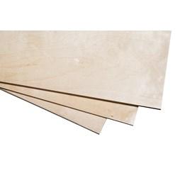 Plywoodlock 1200x800x6mm + 2 Lister På Kortsidan