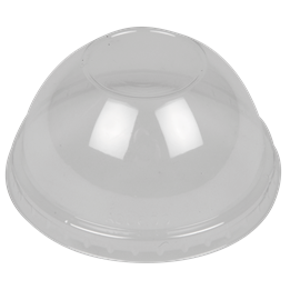 Kupollock Plastglas Utan hål RPET 50st/fp  till 5391 Multiglas 30cl