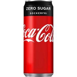 Coca Cola Zero Sugar 33cl Burk