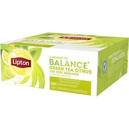 Te Lipton Green Citrus 100st/fp