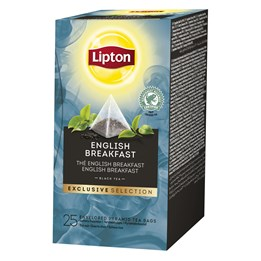 Te Lipton Pyramid English Breakfast 25st/fp