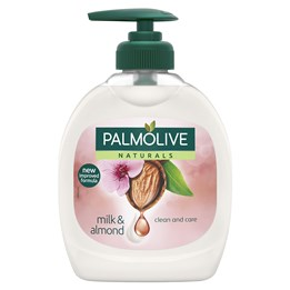 Tvål Palmolive Pump Milk / Almond / Oliv 300ml