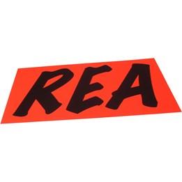Textkartong 94x64cm Rea Fl.Röd