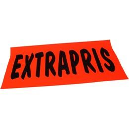 Textkartong 45x22cm Extrapris Fl.Röd