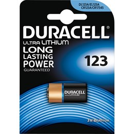 Batteri Duracell 123 Photo 3V Lithium