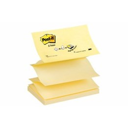 Post-It Z-Notes R350 127x76mm Gul