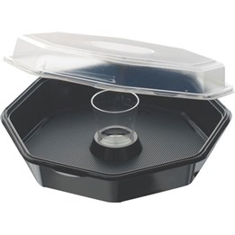 Octaviewbox+65ml Glas 230x230x70mm 1250ml