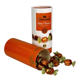 Julchoklad Tryffel Salted Caramel Tub 300g