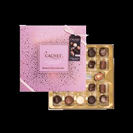Julchoklad Fierwork Collection Rosa 315g