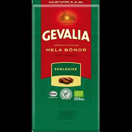 Kaffe Gevalia Hela Bönor 1000g Ekologiskt Mellanrost