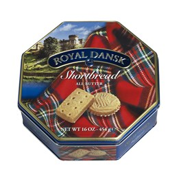 Shortbread 454g Royal Dansk