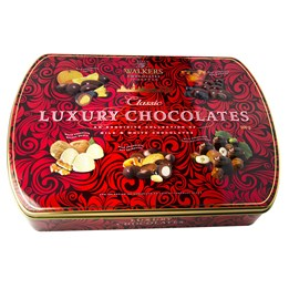 Julchoklad Luxery Chocolate Tin 500g