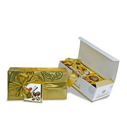 Julchoklad Gold Belgiska presentpraliner 400g