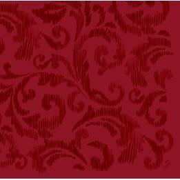 Servett 40cm Dunilin Saphira Vinröd 45st/fp