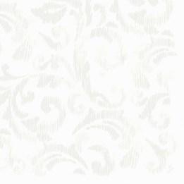 Servett 40cm Dunilin Saphira White 45st/fp