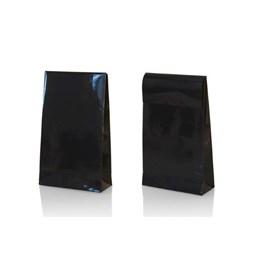 Presentpåse L 200x65x330mm Svart 100st/fp