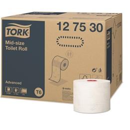 Toalettpapper Tork Advanced Grå Dekor T6 2-Lager 100m/rl  27rl/fp