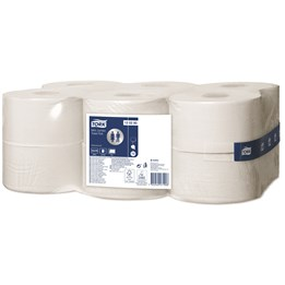 Toalettpapper Tork Advanced Mini Jumbo T2 2-Lager 170m/rl  12rl/fp