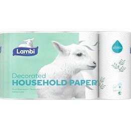 Hushållspapper Lambi 3-Lager 15m/rl  20rl/fp