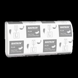 Pappershandduk Katrin Plus EasyFlush C-Fold  2-Lager  2250st/fp