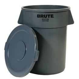 Plasttunna Brute  495x581mm 76L Grå
