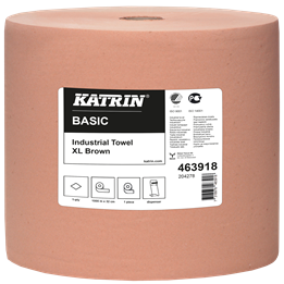 Torkrulle Katrin Industri Basic XL 32cm x 1000m Brun 1-Lager