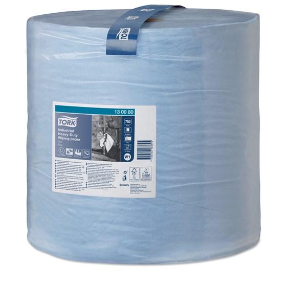 Torkrulle Tork Industri Premium Extra Kraftig Perforerad 36,9cm x 255m Blå Dekor 3-Lager W1