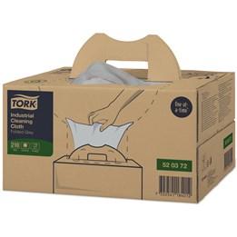 Torkduk Tork Premium Industri 43x35cm Grå 1-Lager W7 Flexibel 210st/fp