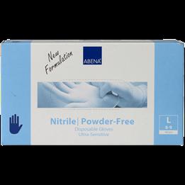 Nitrilhandske Blå L Livsmedelsgodkänd 100st/fp  Ultra Sensitive. Puderfria