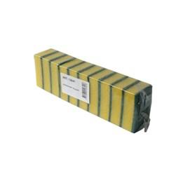 Rengöringssvamp 8,5x5,5x3cm Grön 10st/fp