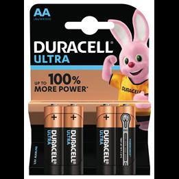 Batteri Duracell AA Ultra LR6 1,5V 4st/fp