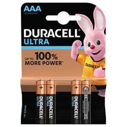 Batteri Duracell AAA Ultra LR03 1,5V 4st/fp