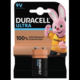 Batteri Duracell 9V Ultra 6LR61