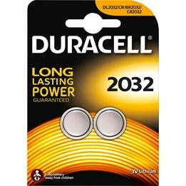 Batteri Duracell DL/CR2032 3V Lithium 2st/fp