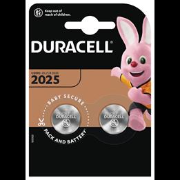 Batteri Duracell DL/CR2025 3V Lithium