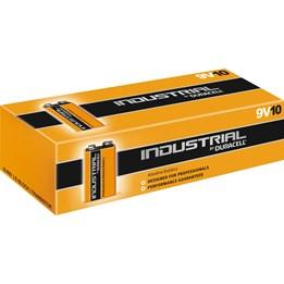 Batteri Duracell 9V 6LR61 10st/fp