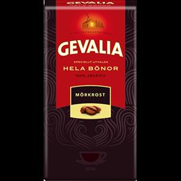 Kaffe Gevalia Hela Bönor 1000g Mörkrost