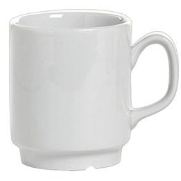 Porslin Kaffemugg Stapelbar 22cl 6st/fp