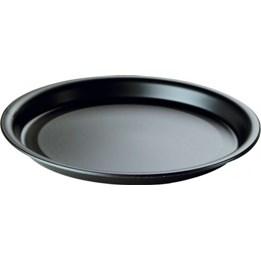Plasttallrik 22cm Svart 50st/fp