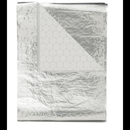 Wrappapper Aluminium 27x36cm 2000st/fp