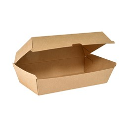 Hämtbox Mealbox Stor kartong 205x107x79mm 1100ml 45st/fp