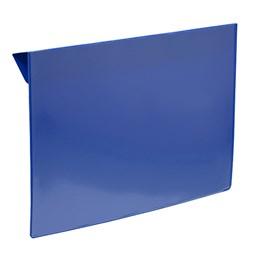 Pallkragsskylt För A5 Blå/transparent
