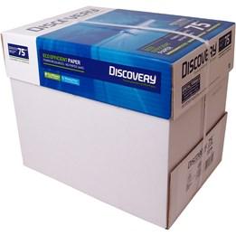 Kopieringspapper A4 Hålat 75g Discovery 2500st/krt