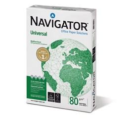 Kopieringspapper A4 Hålat 80g Navigator  Non stop