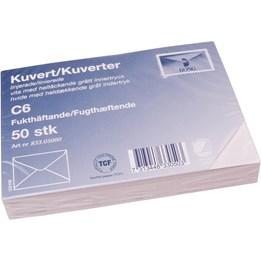 Kuvert Vit Konsumentförpackade