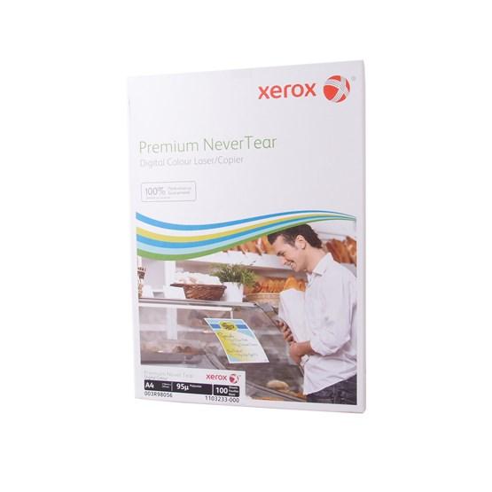 Kopieringspapper A4 125g Allväder Matt 100ark/fp Xerox Premium Never Tear, 95my