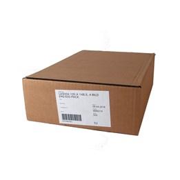 Etikett A4 105x148,5mm Vit  4st/ark 500ark/fp