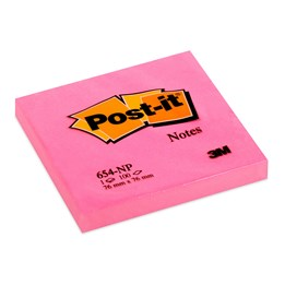 Post-It 654 76x76mm Cerise 6st/fp