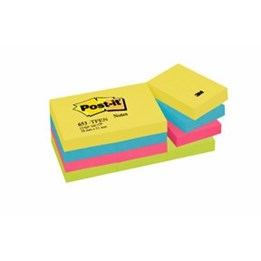 Post-It 653 51x38mm Energetic 12st/fp